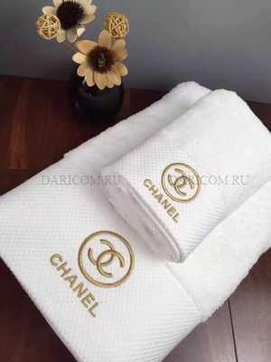 Набор полотенец  Шанель-Классик беллый