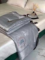 """Одеяло с шелковым наполнителем .Ткань сверху - тенсель """" Мелоди """""""