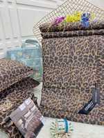 """Набор одеяло плюс простынь и наволочки """"Леопард"""""""
