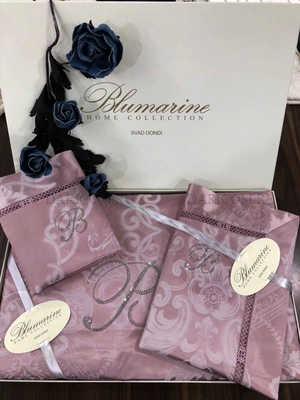 "Белье Blumarine  c батистом  без кружевом ""Касандра"" розовое"
