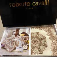 """Белье Roberto Cavalli сатин new """" Куатра """""""