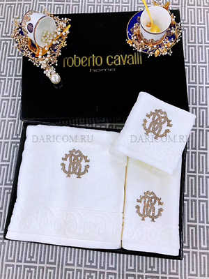 "Набор полотенец Roberto Cavalli  "" Лира """
