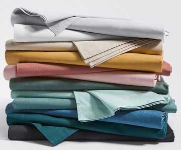 Выбор цвета для постельного белья