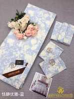 Набор Одеяло плюс простынь и наволочками де люкс с шелковым наполнителем Синева