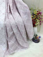 Плед - покрывало Египетский хлопок двухстороннее Victoria   Secret Розовое