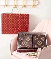Набор полотенец Louis Vuitton  - 2 штуки банные - коричневые