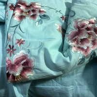 """Одеяло с шелковым наполнителем с вышивкой """" Милла"""""""