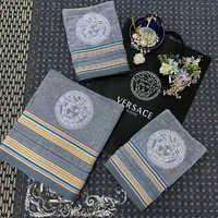 Набор полотенец Versace ( серое )