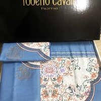 Набор полотенец Roberto Cavalli  (сиреневое )kl;lзштол