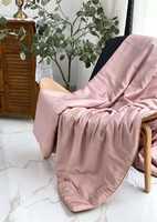 Одеяло  тонкие из натурального шелка с покрытием из TENCEL (розовое)