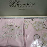 Белье Blumarine с вышивкой ( розовое) АКЦИЯ