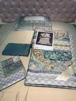 Набор Victoria Secret с шелковым одеялом простынью и наволочками 2