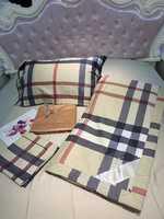 Набор- Одеяло BURBERRY -с простынью и наволочками  шелковым наполнителем
