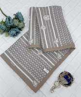Плед  - покрывало  Египетский хлопок Louis Vuitton - коричневое