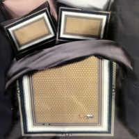 Набор сатин де люкс  Одеяло с простынью и наволочками с шелковым наполнителем