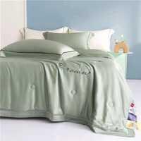 Набор Одеяло плюс простынь и наволочками из ткани Тенсель с мережкой Рандеву