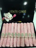 Набор полотенец - салфеток Roberto Cavalli - Элегия  ИЗ 10 ШТУК ( розовый) с вышивкой